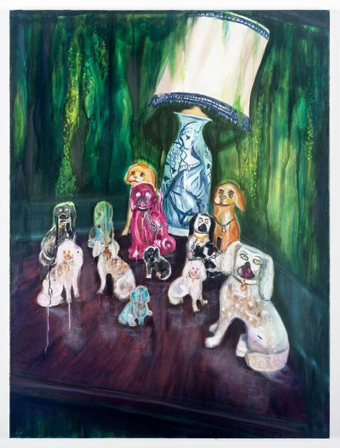 , 'Porcelain Dogs,' 2015, Peana Projects