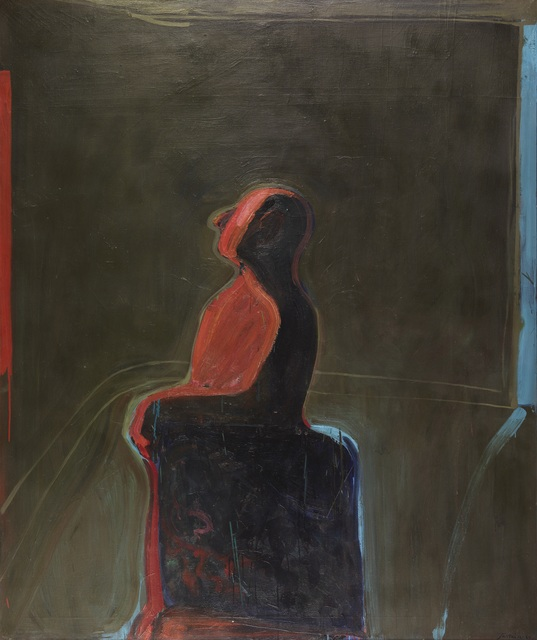 James Jarvaise, 'Untitled (Man in the Room Series)', 1964, Painting, Oil on canvas, Louis Stern Fine Arts