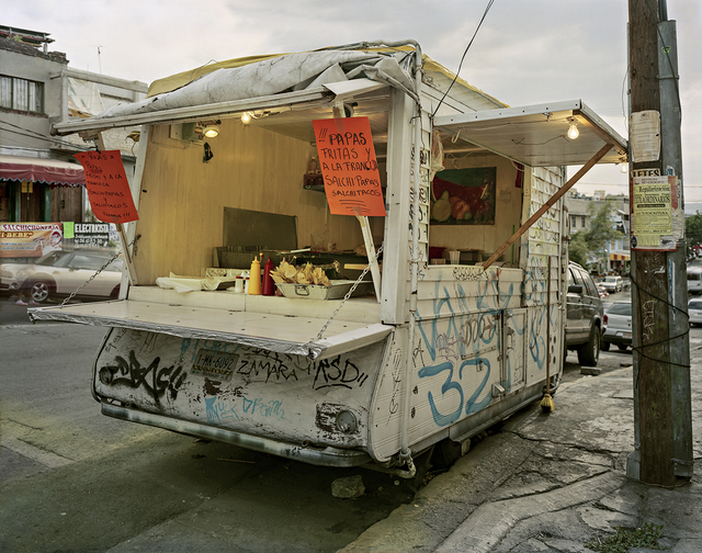 , 'Truck Selling Salchitacos, Pefregal de Santo Domingo, Mexico City, Distrito Federal, Mexico,' 2013, Robert Klein Gallery