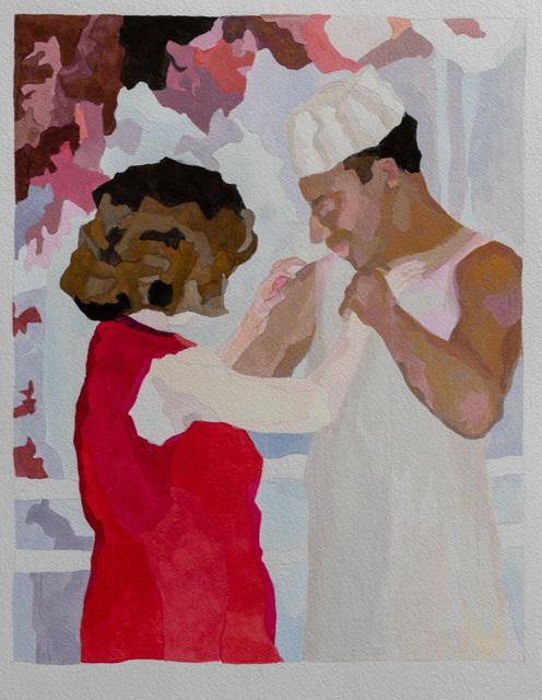 , 'Last Dance (study),' 2018, Jonathan Ferrara Gallery