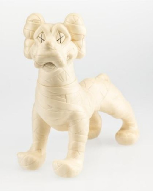 KAWS, 'KAWS X NEIGHBORHOOD ZOOTH (WHITE)', 2008, Sculpture, Painted cast vinyl, Marcel Katz Art