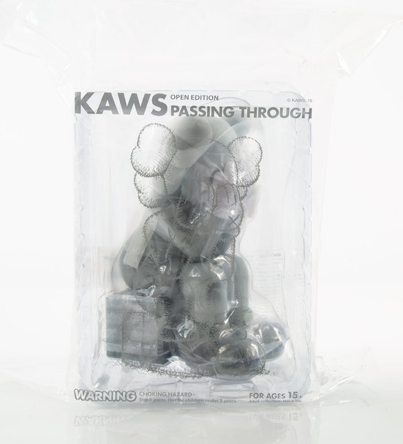 KAWS, 'Passing Through, set of three', 2018, Sculpture, Painted cast vinyl, Heritage Auctions