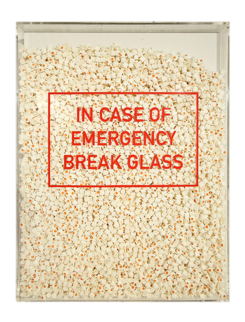 , 'In Case of Emergency Break Glass,' 2017, GGA GALLERY