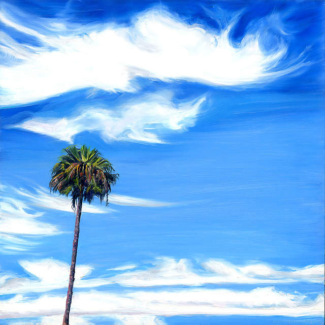, 'Palm Springs Sky I,' 2016, Sue Greenwood Fine Art