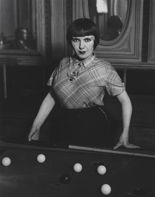 , 'Prostitute Playing Snooker,' 1933, Robert Klein Gallery