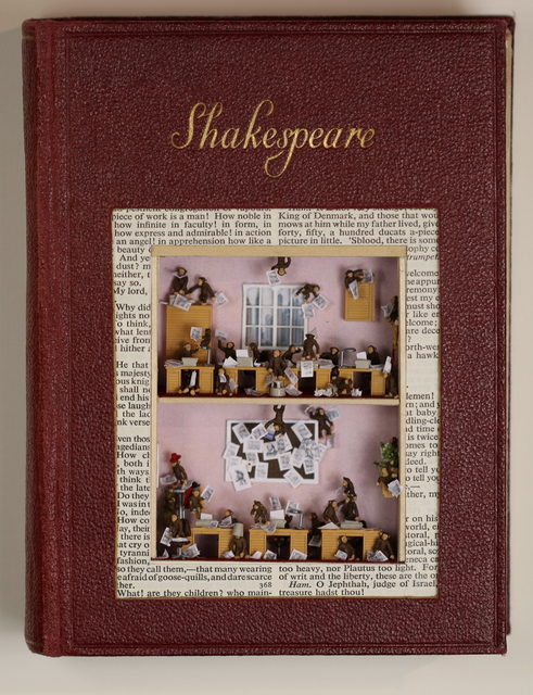 , 'The Complete Works of Shakespeare - The Infinite Monkey Theorum,' 2016, Gallery Different