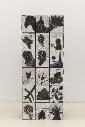 , 'Traces et Mémoires 3,' 2013, Galerie Anne de Villepoix