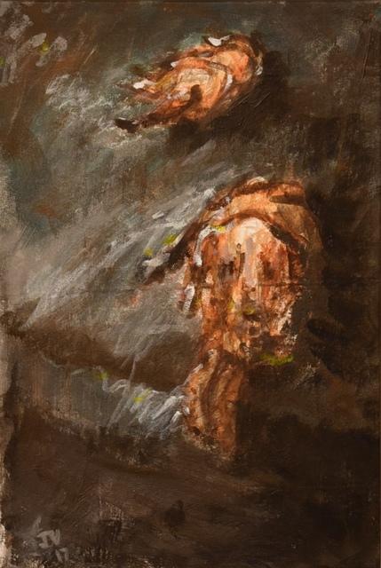 , 'Dog 4,' 2017, Carter Burden Gallery