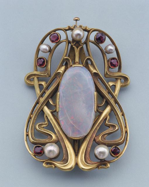 Edward Colonna, 'Buckle', ca. 1900, Cooper Hewitt, Smithsonian Design Museum