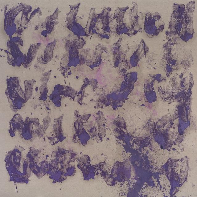 , '《Ada》in Silver Purple, No. L-3 ,' 2017, Arario Gallery