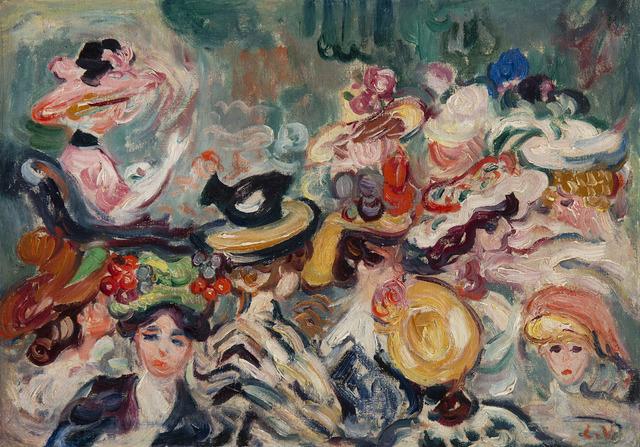 Louis Valtat, 'Les chapeaux', 1898, BAILLY GALLERY