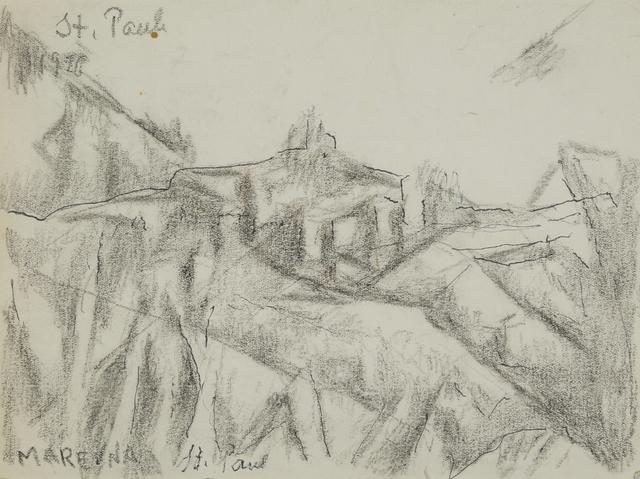 Marie Vorobieff Marevna, 'St. Paul de Vence', 1940, Roseberys
