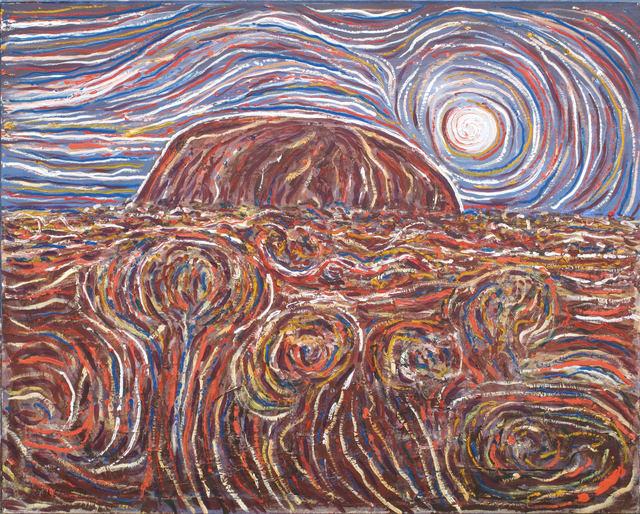 Robert Fisher, 'Moon Glow Uluru', Wentworth Galleries