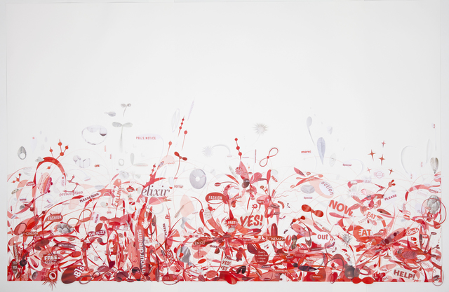 , 'Blood, Guts and Glory,' 2011, Elisa Contemporary