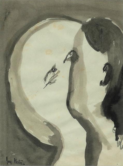 Joy Hester, '(Lovers Series)', c 1949, Charles Nodrum Gallery