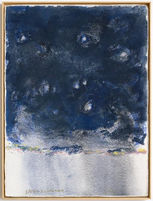 """Pier Paolo Calzolari, 'Untitled, from """"Muitos estudos para uma casa de limão"""" series', 2018, Repetto Gallery"""