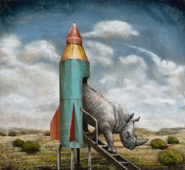 , 'It's Not Rocket Science,' 2018, Patricia Rovzar Gallery