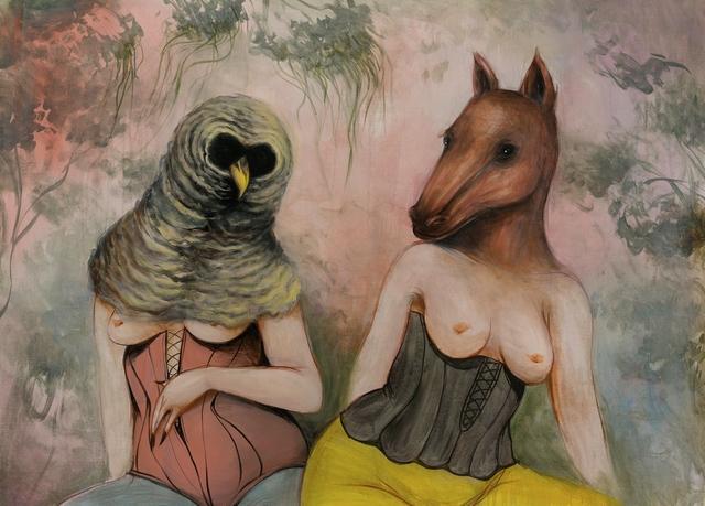 , 'Buho y Caballo,' 2014, StolenSpace Gallery