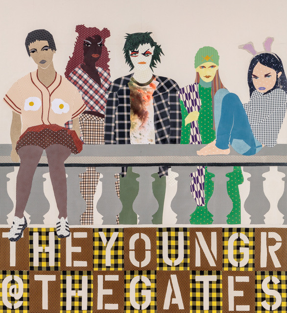 Lara Schnitger, 'The Young Are At The Gates', 2017, Anton Kern Gallery