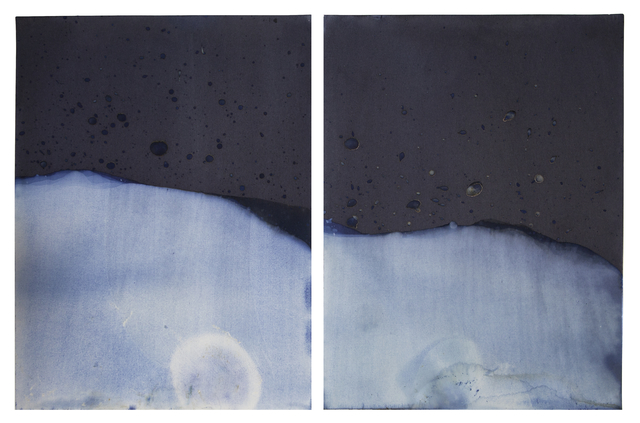 , 'Muybridge Tides #08 (Rapidly Submerged Paper, Snake River, WY, 09.23.17),' 2017, Jackson Fine Art