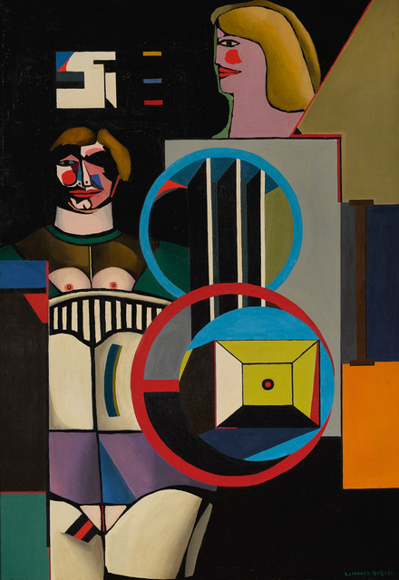 Richard Lindner, 'Pause', 1958-1961, Sotheby's: Contemporary Art Day Auction