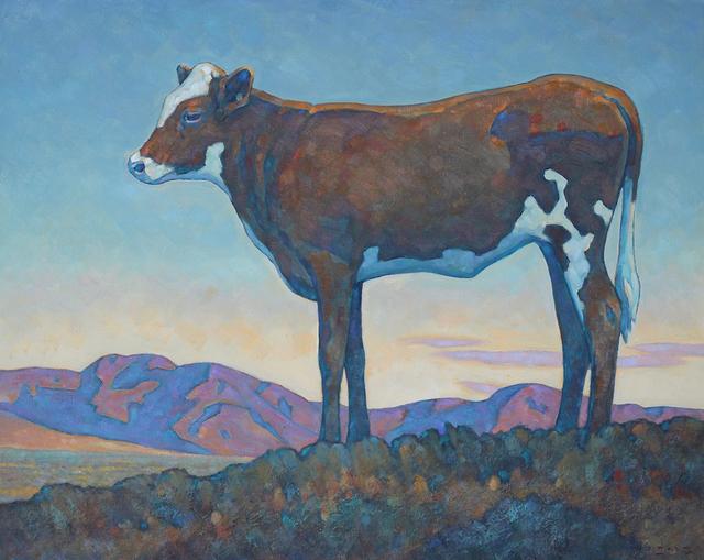 ", '""Stray Calf"",' 2018, Maxwell Alexander Gallery"