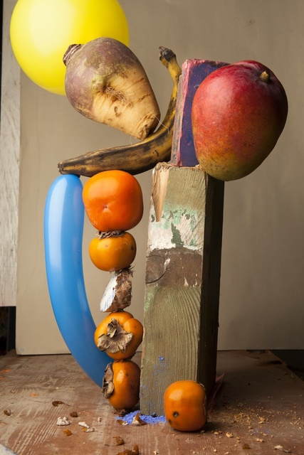 , 'Caco Twisted Balloon and Falling Mango,' 2013, The Photographers' Gallery