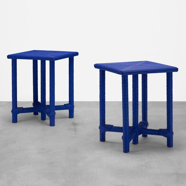 Christian Astuguevieille, 'Afribaka tables, pair', 2013, Wright