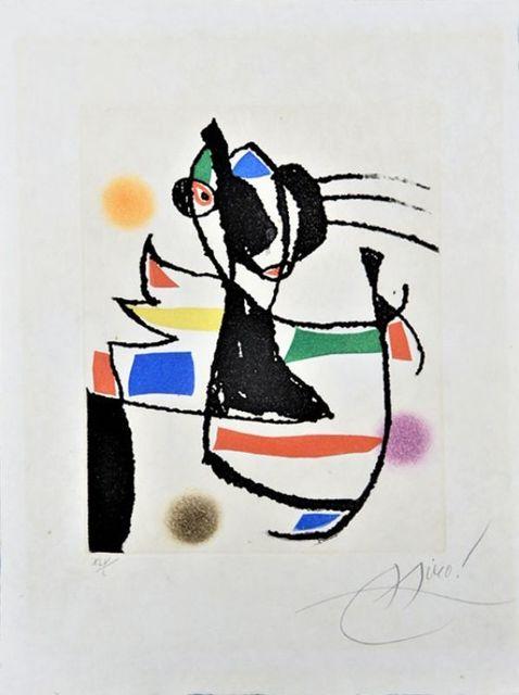 Joan Miró, 'Le marteau sans maître ', 1974, Le Coin des Arts