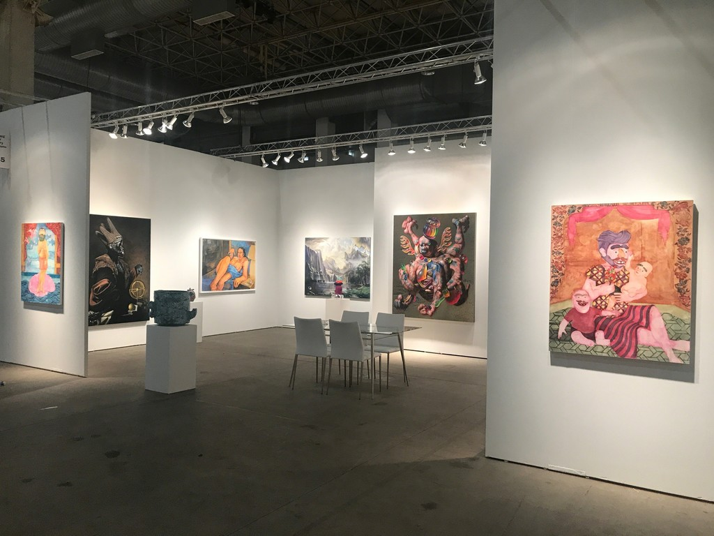 Richard Heller Gallery, Booth 345, at EXPO CHICAGO 2018.