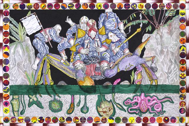 , 'Jalebi Blockades,' 2017, Richard Koh Fine Art