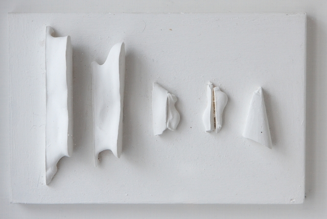 , 'White relief IX (1988/10),' 1988, ART+TEXT Budapest