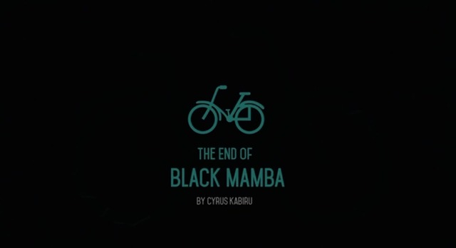 , 'The End of Black Mamba,' 2015, SMAC