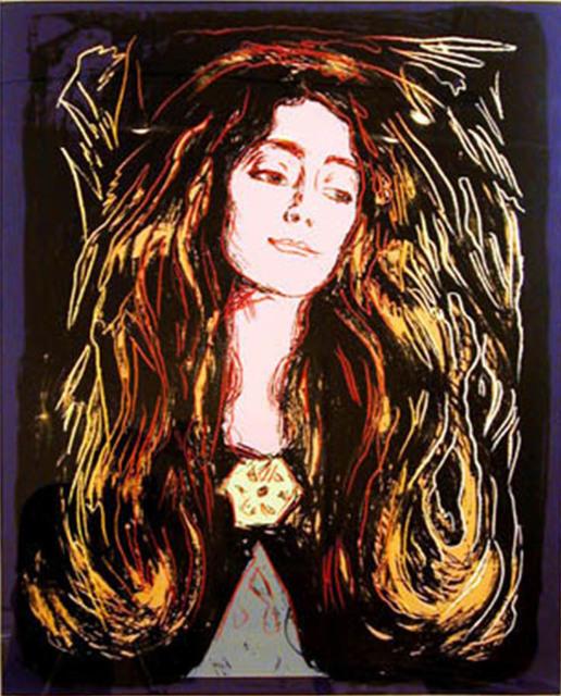Andy Warhol, 'Eva Muducci (After Munch)', 1984, Joseph K. Levene Fine Art, Ltd.