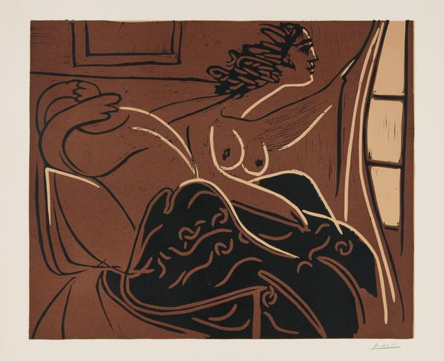 Pablo Picasso, 'Femme regardant par la fenêtre (Woman Looking out the Window)', 1960, Phillips