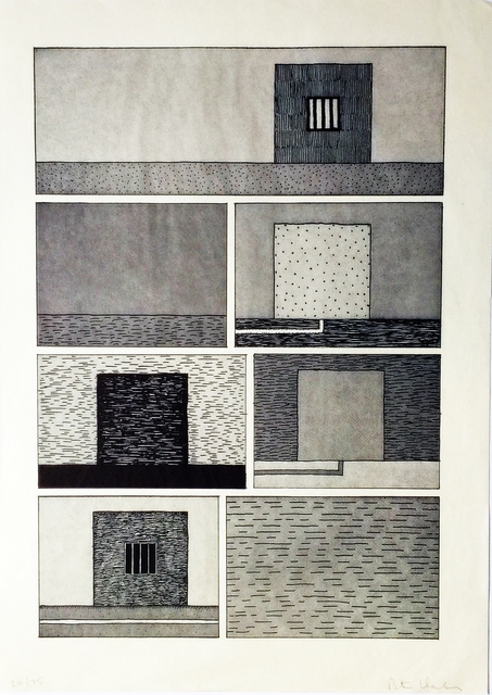 Peter Halley, 'Untitled for Brooklyn Academy of Music (BAM) ', 1991, Alpha 137 Gallery