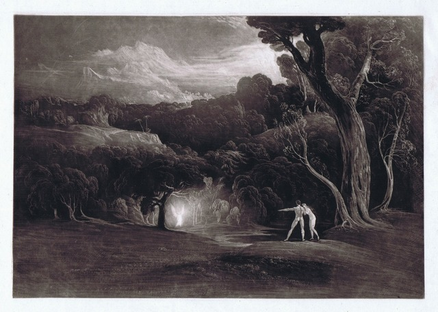 , 'Paradise - With the Approach of the Archangel Raphael,' 1824-1825, Bernard Jacobson Gallery