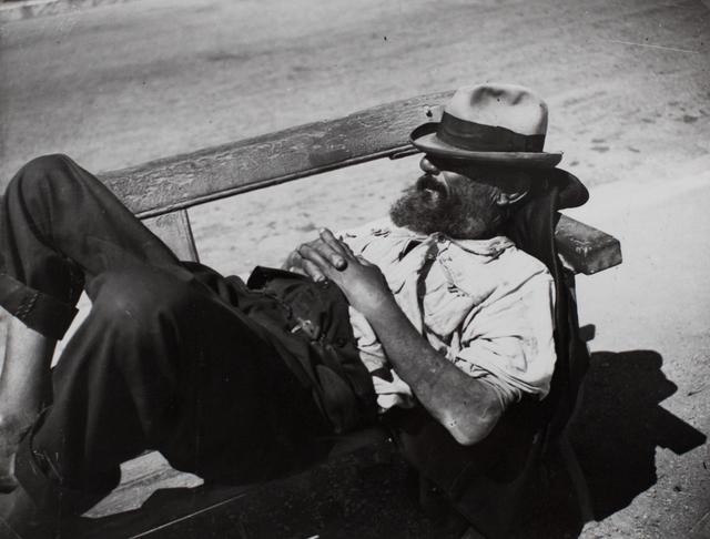 Brassai (Gyula Halasz), 'Tramp, Cannes', ca. 1932-34, Michael Hoppen Gallery