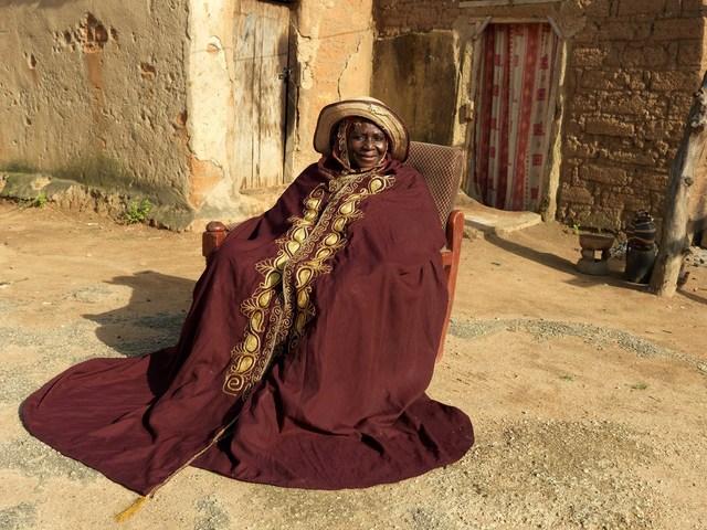 , 'HRH Queen Hajiya Hadizatu Ahmedu magajiya of Knubwada,' 2012, TAFETA