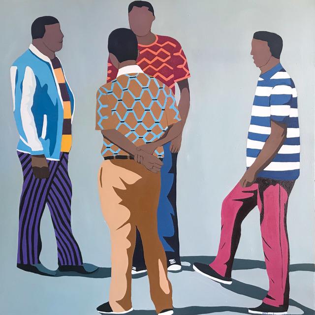 Shakes Tembani, '4 Men', 2019, Opulent Living Gallery