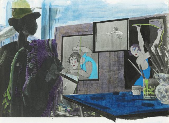 , 'My coloring book. Green tape,' 1978, Frittelli Arte Contemporanea