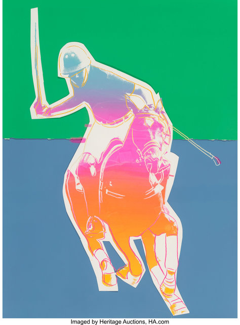 Andy Warhol, 'Polo (Blue and Green)', 1985, Heritage Auctions