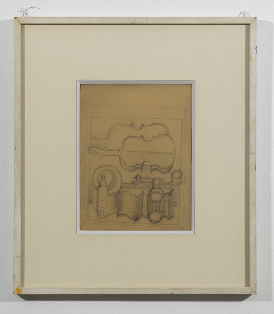 Le Corbusier, 'Nature morte pipe et carafe canelée', 1920, Galerie Denise René