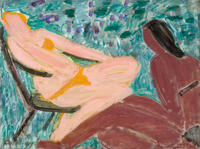 , 'Sun Bathers, Peach and Brown,' 1969, Dowling Walsh