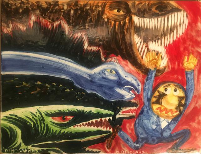 Hervé Di Rosa, 'Dinosaures', 2019, Galerie Slika