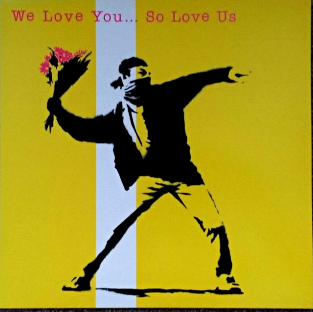 , 'We Love You So Love Us ,' 2000, Alpha 137 Gallery