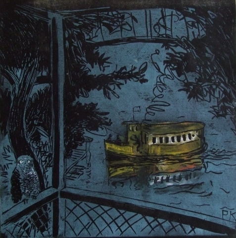 , 'Night ferry,' 2010, Australian Galleries