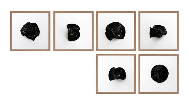 , 'Untitled (All Tomorrow's Parties Black 6),' 2016, Machete