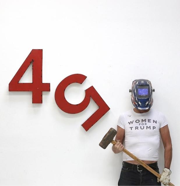 , '45,' 2017, Artist's Proof