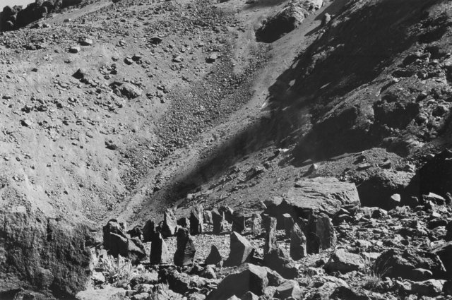 Richard Long, 'Sincholagua Summit Shadow Stones (A 12 Day Walk in Ecuador)', 1998, Heritage Auctions